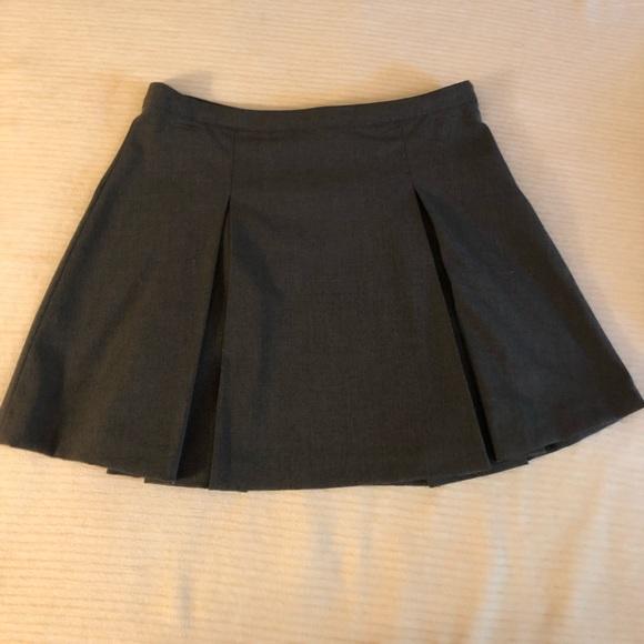 Forever 21 Dresses & Skirts - Gray pleated mini skirt
